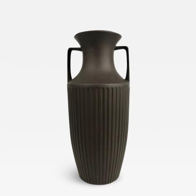 John Clappison Hornsea Pottery Brown Bisque Amphora Vase