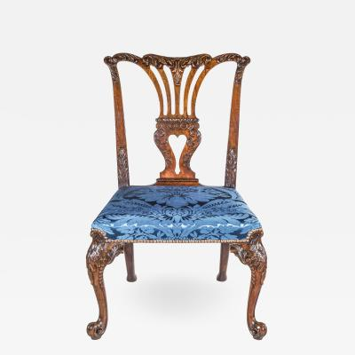 John Cobb Fine George II Chippendale Mahogany Side Chair