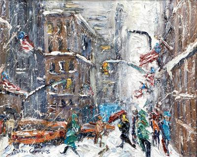 John Crimmins Fifth Avenue Snowfall