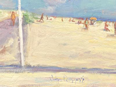 John Crimmins Flag at Coopers Beach