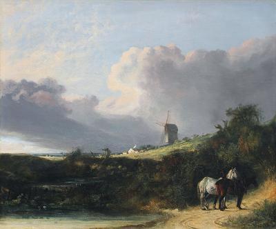 John Crome A View Near Woodbridge Suffolk