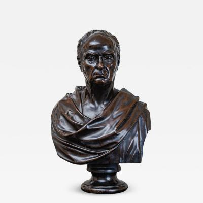 John Crookshanks King Bronze Bust of Daniel Webster