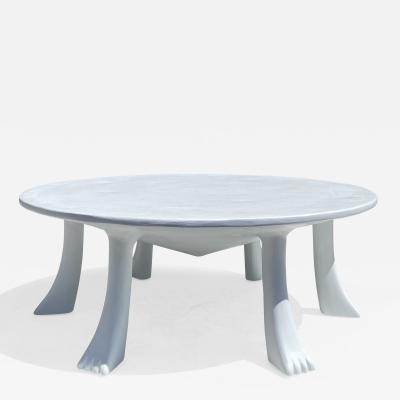 John Dickinson African Plaster over Wood Coffee Table