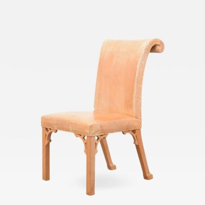 John Dickinson John Dickinson Hand Carved Chair USA 1969