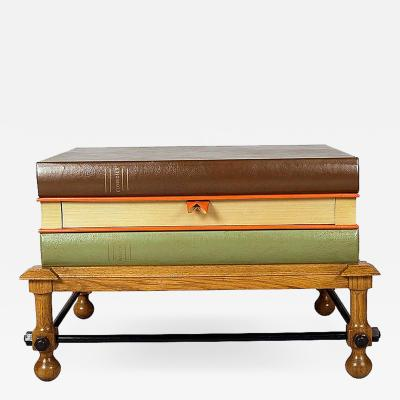 John Dickinson Stacked Books Coffee Table or Side Table