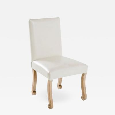John Dickinson White Side Chair