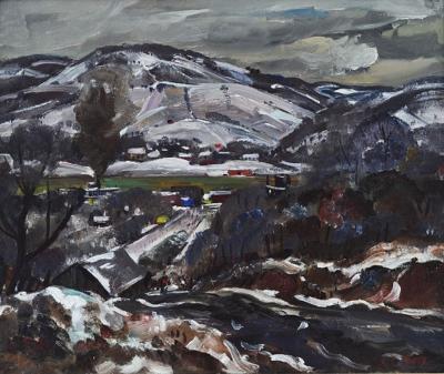 John E Weis Winter Along the Ohio