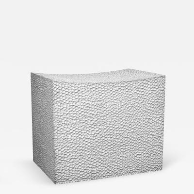 John Eric Byers Block Stool 1 White by John Eric Byers