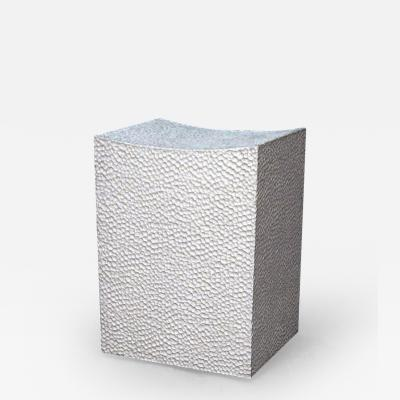 John Eric Byers Block Stool 2 White by John Eric Byers