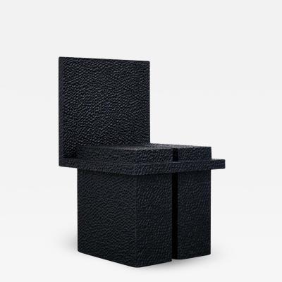 John Eric Byers C2 Chair Hand Sculpted by John Eric Byers