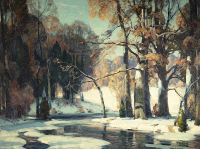 John Fabian Carlson Sunlit Waters