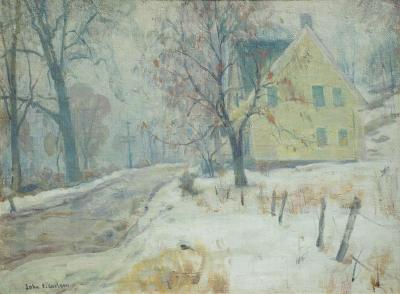 John Fabian Carlson Winter Mists