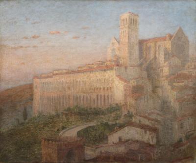John Ferguson Weir Basilica of San Francesco d Assisi Italy