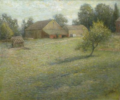 John Ferguson Weir The Farm