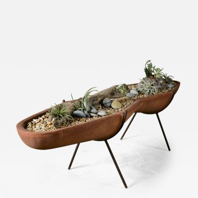 John Follis Architectural Pottery Peanut Planter