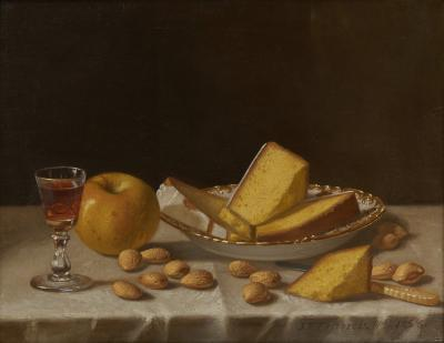 John Francis Still Life with Cake