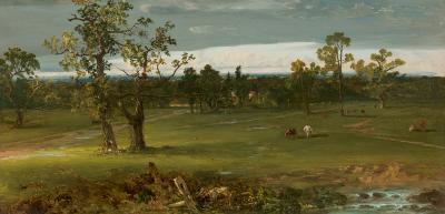 John Frederick Kensett At Pasture