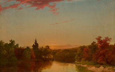 John Frederick Kensett Autumnal Landscape