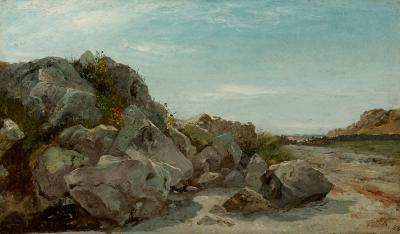 John Frederick Kensett Coast Newport Rhode Island
