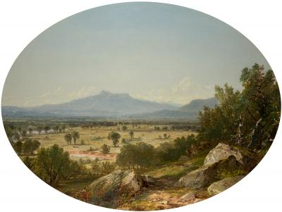 John Frederick Kensett Landscape Mount Chocorua from Conway 1854