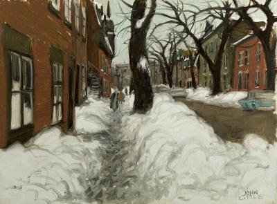 John Geoffrey Caruthers Little Rue Beaudry Montreal 1971