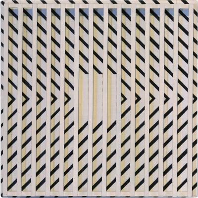 John Goodyear Diagonal Over Yellow
