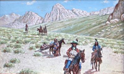 John Hauser John Hauser Mountain Desert Trail Dated 1896