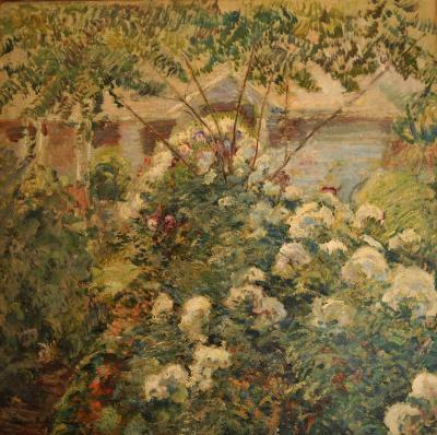 John Henry Twachtman Greenwich Gardens