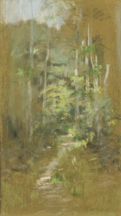 John Henry Twachtman Woodland Path