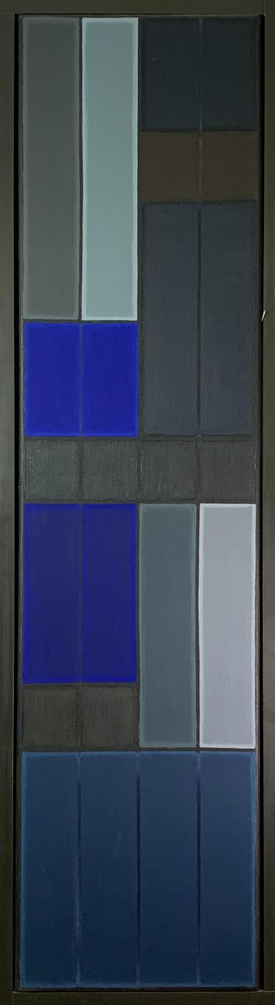 John Hopwood Untitled Blue Abstract Number 2