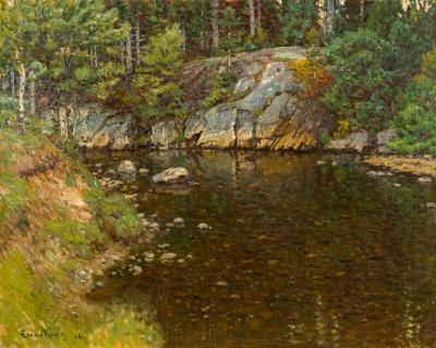 John Joseph Enneking Trout Brook