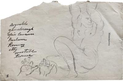 John Kane John Kane 1860 1934 Study of a Male Nude Young Highlander with Raised Arm