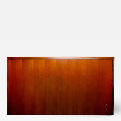 John Kapel John Kapel for Glenn of California King Size Headboard circa 1960