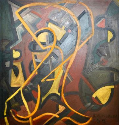 John Kazann Tenth Street Abstract