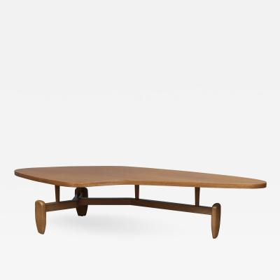 John Keal John Keal Outrigger Coffee Table for Brown Saltman