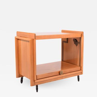John Keal Tea Cart by John Keal for Brown Saltman