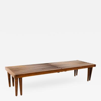 John Keal for Brown Saltman Mid Century Expandable Bench