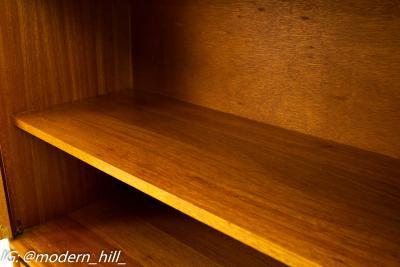 John Keal for Brown Saltman Mid Century Mahogany Sideboard Buffet Credenza