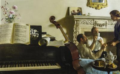 John Koch The Three Musicians