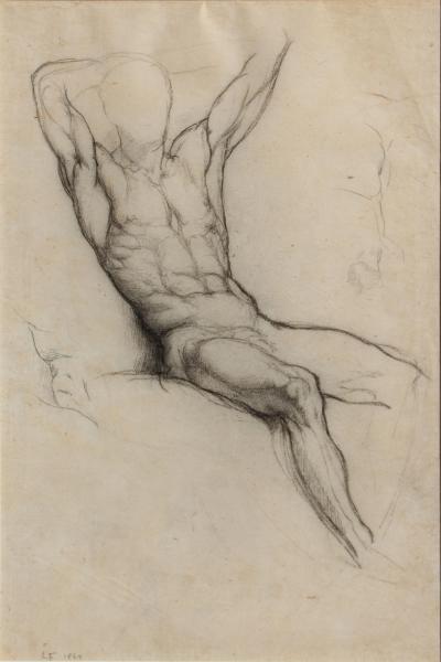 John La Farge Male Nude