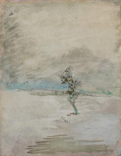 John La Farge Study of Snow