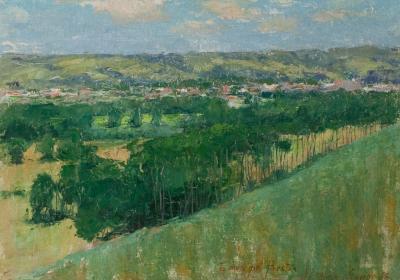 John Leslie Breck Giverny 1888