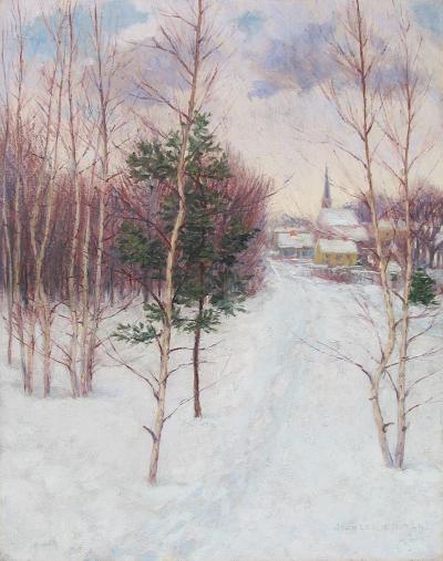 John Leslie Breck New England Village
