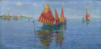 John Leslie Breck The Bay of Venice