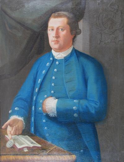 John Mare Man in Blue