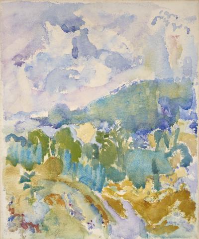 John Marin Hudson River Valley