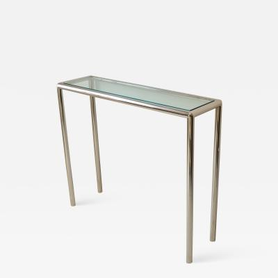 John Mascheroni Tubular Steel Console Table