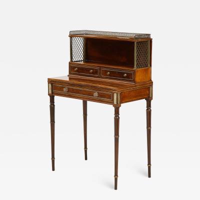 John McLean Regency Diminutive Writing Table