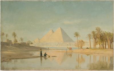 John Peter Kornbeck John Peter Kornbeck DUTCH 1837 1894 Pyramids