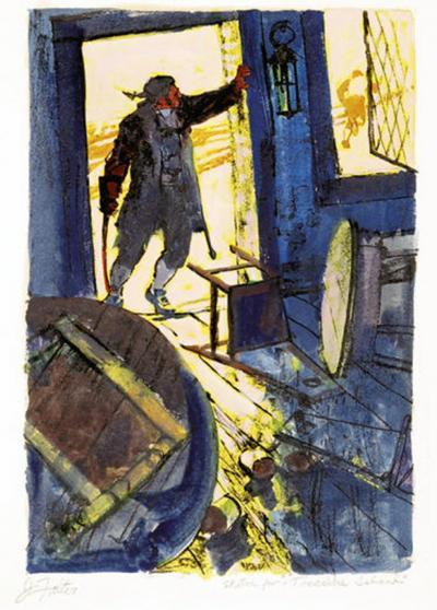 John Philip Falter Treasure Island Book Illustration